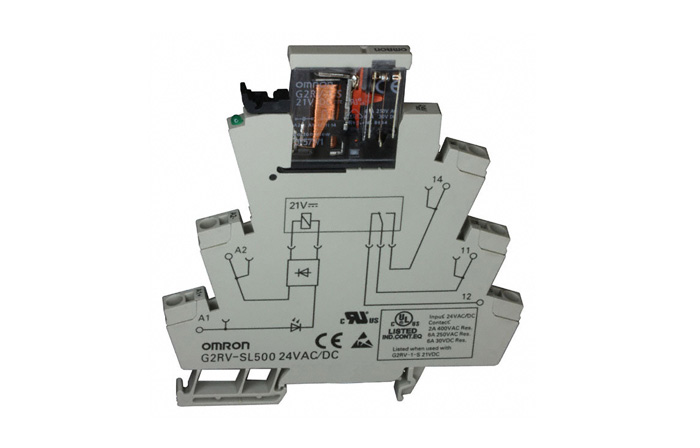 THIN OMRON RELAY