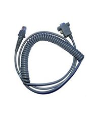 RS232 COIL CABLE 9PIN FEMALE 9.5'