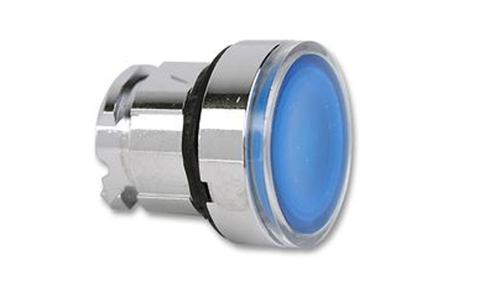 P/BUTTON ?22M FLUSH ILLUM LED B